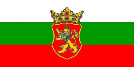 Знаме на Националния съвет на българското национално малцинство в Сърбия